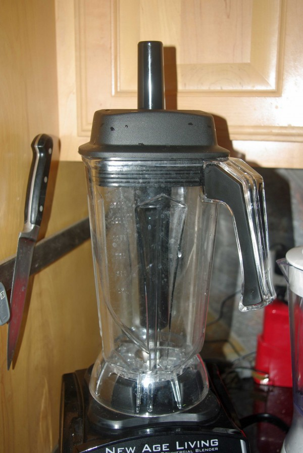 The jar on this blender is HUGE - bigger than any other I considered.
