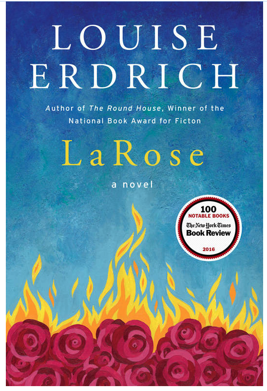 LaRose by Louise Erdrich book cover.